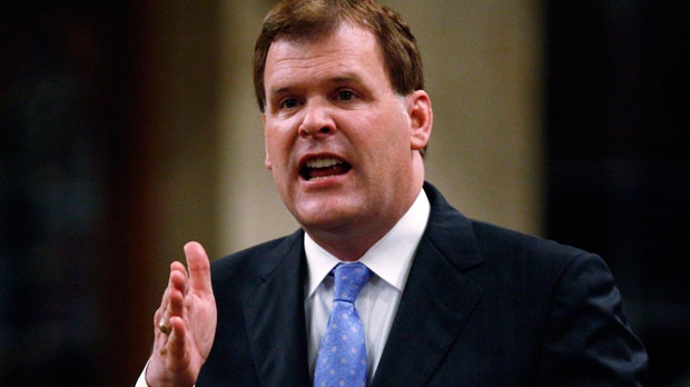 Minister of Foreign affairs John Baird responds during question period in the House of Commons on Parliament Hill in Ottawa on June 19, 2012. (Sean Kilpatrick / THE CANADIAN PRESS)