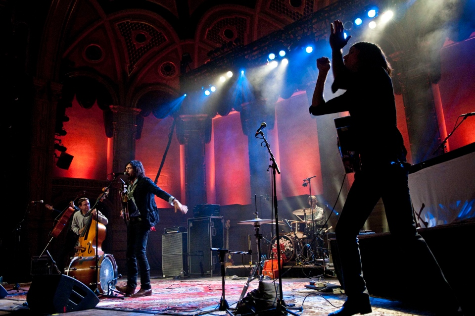 The Avett Brothers perform at The Orpheum on Wednesday, June 27, 2012 as part of the TD Vancouver International Jazz Festival in Vancouver, B.C. (Anil Sharma/CTV)