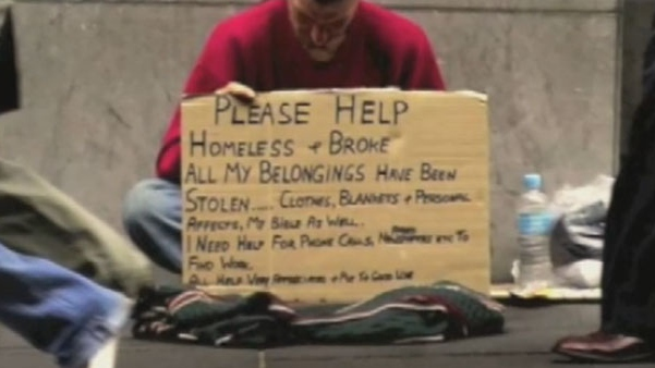 According to recent statistics, as many as 10,000 Canadian youth are homeless.