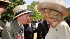 Camilla Parker-Bowles, veteran, London, memorial