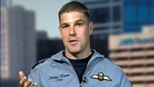 Canadian astronaut Maj. Jeremy Hansen