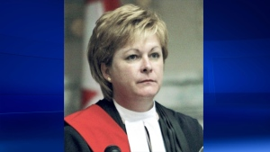 Lori Douglas, the judge who is being investigated by the Canadian Judicial Council, is seen in this undated photo.