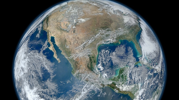 This Jan. 4, 2012, file photo provided by NASA shows the Earth. (AP / NASA)