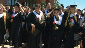 Extended: Winnipeg high school commencement