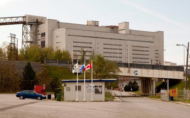 The Jeffrey asbestos mine