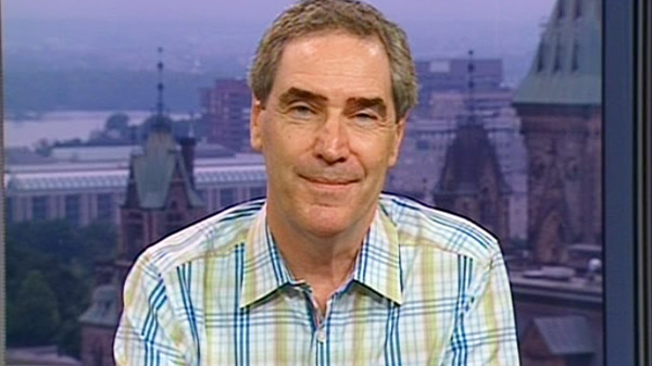 Liberal Leader Michael Ignatieff speaks on Canada AM from CTV's studios in Ottawa, Tuesday, July 13, 2010.