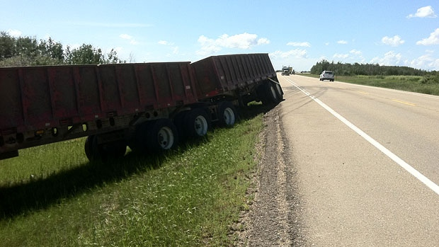 A 22-year-old woman is dead after a fatal collision north of Edmonton Saturday.