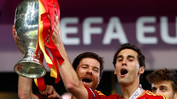 Spain celebrates Euro Cup