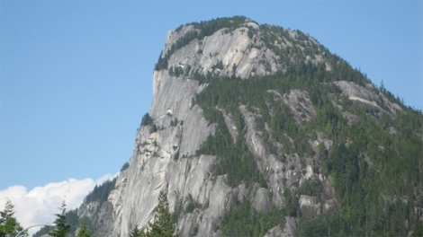 Base Jumper Rescued From Ledge In Squamish B C Ctv News