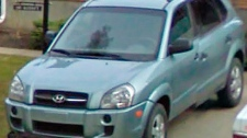 Lyle and Marie McCann's Hyundai Tucson is pictured in this undated family handout photo.