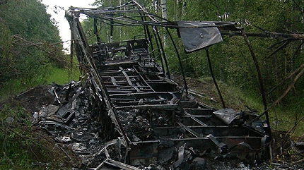 The RV belonging to the couple was found burned-out near the Minnow Lake campground about 35 kilometres southeast of Edson.