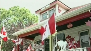CTV National News: Home a tribute to Canada