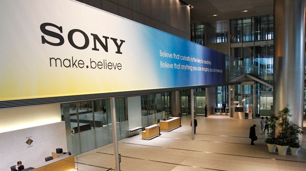 The main lobby of the headquarters of Sony Corp. in Tokyo is pictured. (AP Photo/Koji Sasahara, File)