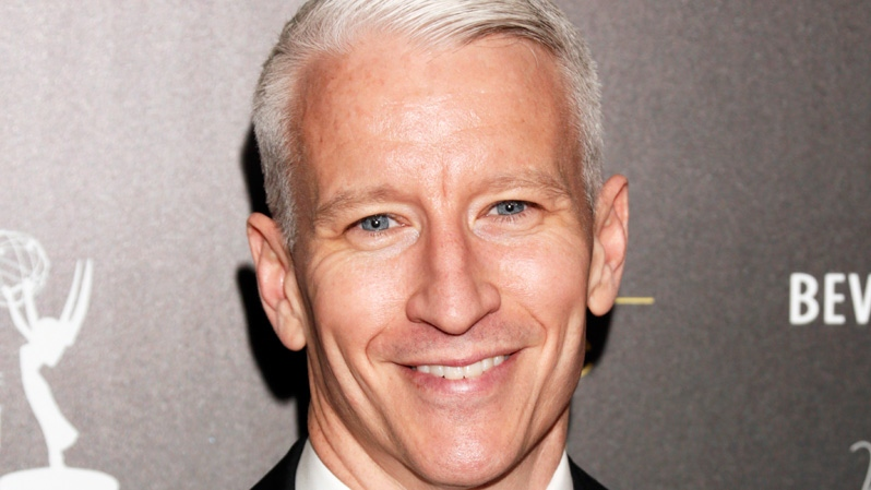 Anderson Cooper arrives at the 39th Annual Daytime Emmy Awards at the Beverly Hilton Hotel in Beverly Hills, Calif. on Saturday, June 23, 2012. (AP / Todd Williamson / Invision)