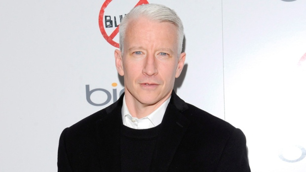 Anderson Cooper blind