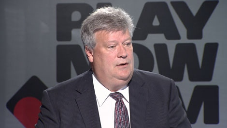 At a press conference in Vancouver, Housing and Social Development Minister Rich Coleman said B.C. would benefit from legal online gambling. July 15, 2010. (CTV)