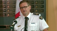 Assistant Commissioner Peter Hourihan shares details about the McCann investigation in Edmonton on Friday, July 16, 2010.