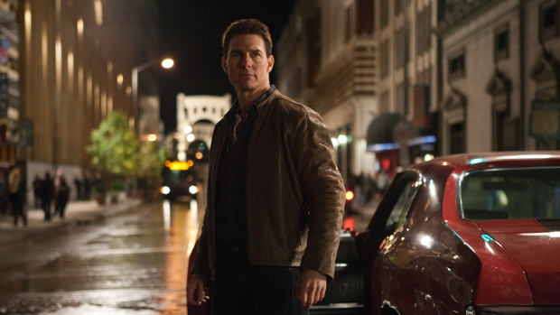 Tom Cruise, centre, is Jack Reacher in the film 'Jack Reacher'