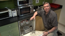 Consumer Reports performed cleaning tests on dishwashing machines to find the most affordable and reliable models. July 16, 2010. (CTV)