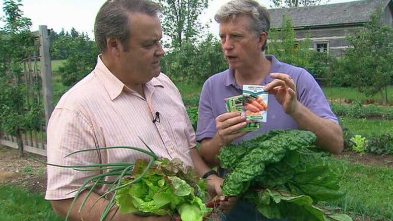 Canada AM gardening expert Mark Cullen shared his tips on cultivating summer vegetables on Canada AM on July 4, 2012.