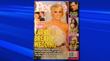 Carrie Underwood appears on the cover of the latest issue of People Magazine. The couple said Carrie will take Fisher's last name, but keep Underwood professionaly.