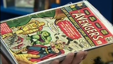 A rare comic collection is up for grabs in Edmonton.