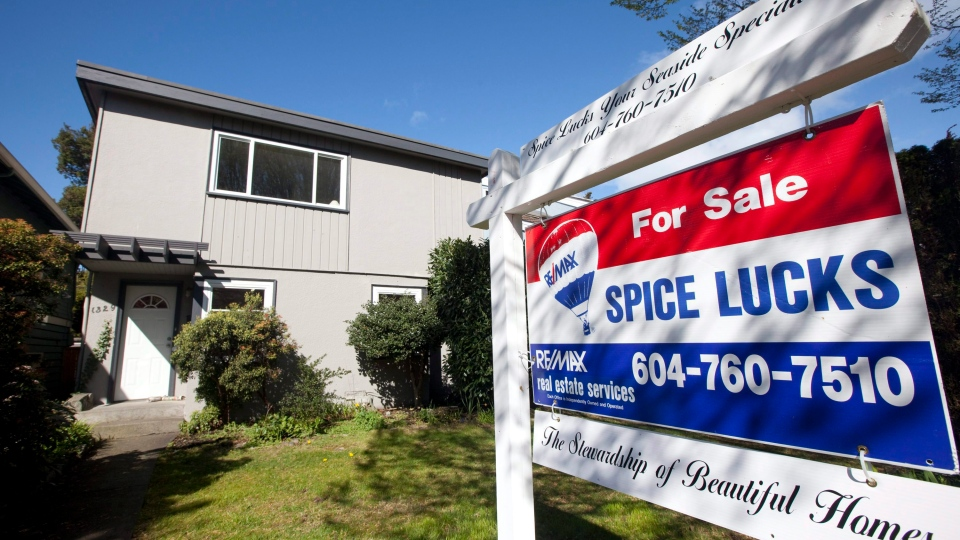 A two-storey, 1,600-square-foot home seen in the Kitsilano area of Vancouver. (Jonathan Hayward / THE CANADIAN PRESS)