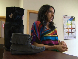 Heather McCormick, co-owner of Manitobah Mukluks, speaks with CTV News.
