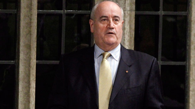 Julian Fantino, Associate Minister of National Defence, stands during Question Period in the House of Commons, in Ottawa, Tuesday March 27, 2012. (The Canadian Press/Fred Chartrand)