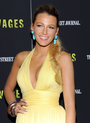 Actress Blake Lively attends a special screening of 'Savages' at the SVA Theater in New York on Wednesday, June 27, 2012. (AP / Evan Agostini / Invision)