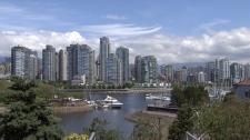 Vancouver Yaletown skyline