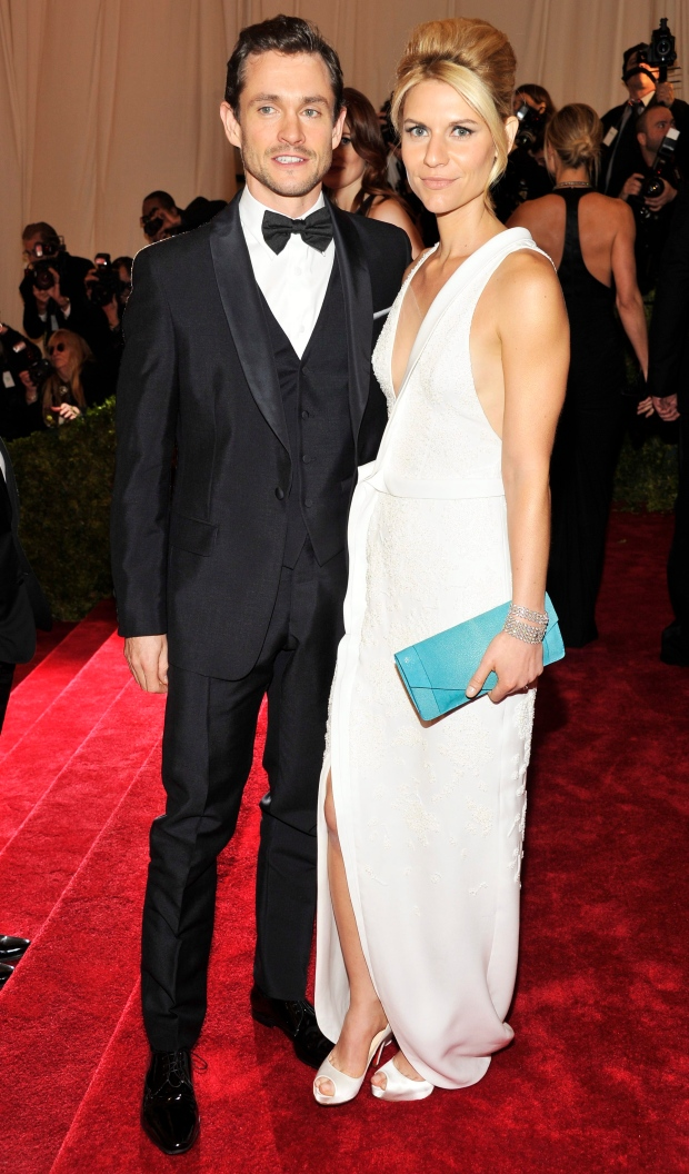 8abe5be8287 Hugh Dancy and Claire Danes arrive at the Metropolitan Museum of Art  Costume Institute gala benefit on May 7