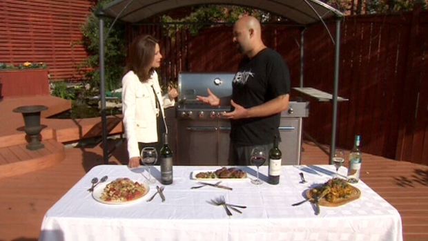 Chef Scott Vivian, owner of Beast Restaurant, cooks a few dishes for Canada AM, Thursday, July 5, 20