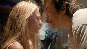 Blake Lively, left, and Benicio Del Toro in Universal Pictures Canada's 'Savages.'