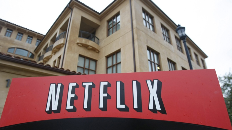 An exterior view of Netflix headquarters in Los Gatos, Calif., Tuesday, Jan. 26, 2010.  (AP / Marcio Jose Sanchez)