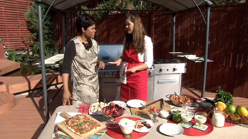 Chef Nicole Young shows Canada AM some unique, outside-the-box recipes for the BBQ, Friday, July 6, 2012.