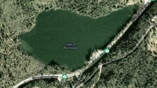 An elderly man from Sidney, B.C., was found unconscious on Lake of the Woods in Hope, B.C., on July 18, 2010. (Google Maps)