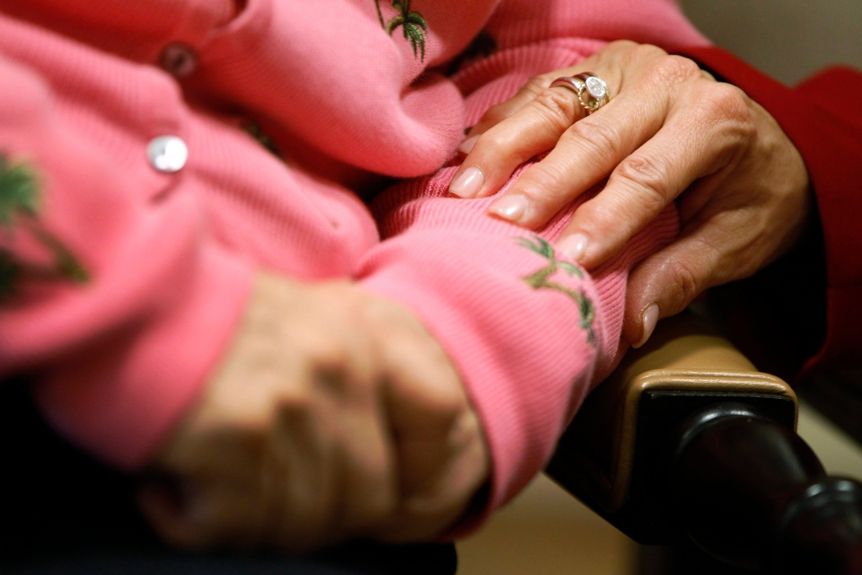 A new study estimates the number of Alzheimer's patients will triple by 2050, overwhelming caregivers and the health care system. (AP / Charles Dharapak)