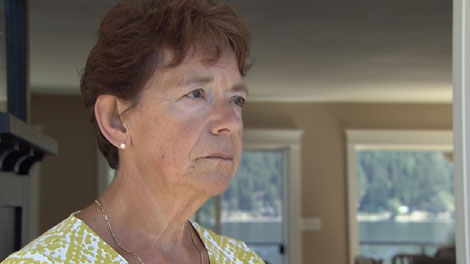 Former RCMP commissioner Bev Busson speaks to CTV News from her B.C. home. July 21, 2010. (CTV)