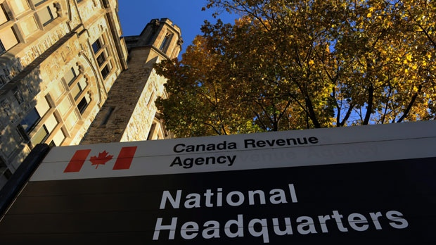 The Canada Revenue Agency headquarters in Ottawa is shown in this file photo. (The Canadian Press/Sean Kilpatrick)