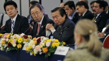 Officials at the Tokyo Conference on Afghanistan in Tokyo Sunday, July 8, 2012.