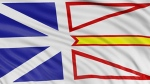 The flag of Newfoundland and Labrador is pictured in this file photo.