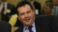 Jason Kenney testifies at a Senate committee on Bill C-31 in Ottawa on June 18, 2012.