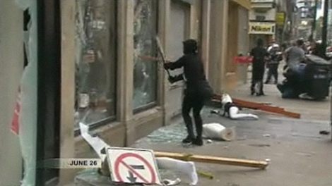 Toronto Police have accused Kelly Rose Pflug-Back, 21, of having taken part in G20 Summit vandalism on June 26, 2010.