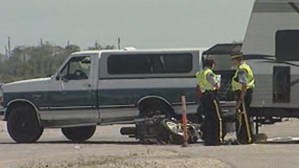 Trans-Canada Highway crash at Deacon's Corner