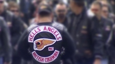 B.C. Hells Angels members are seen in this file image. (CTV)