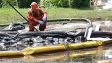 Enbridge pipeline rupture