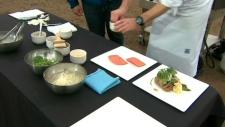 Executive chef Josef Szakacs shows Canada AM how to cook