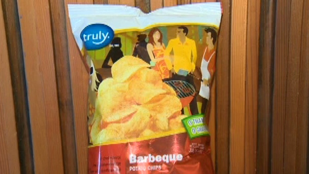 Barbecue chips