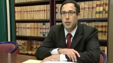 Laywer Josh Weiszner is representing problem gambler Mike Lee in a lawsuit filed against the BCLC. July 23, 2010. (CTV)